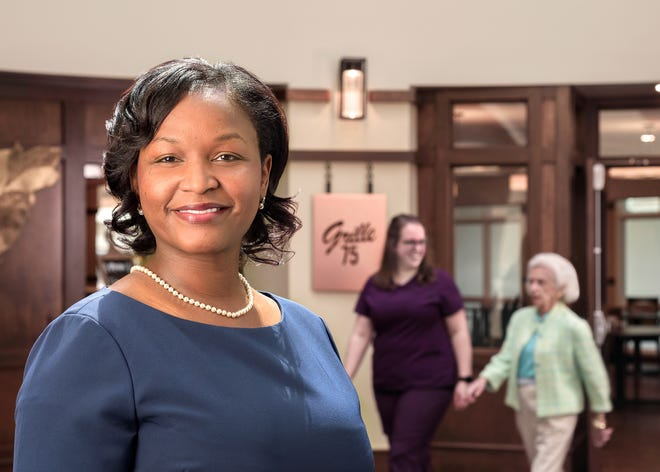 """Episcopal Church Home Senior Executive Director of Residential Healthcare Beverly Edwards says, """"ECH admissions are now open for memory care, skilled care, and independent living. The new personal care center is under construction and will open in 2022."""""""