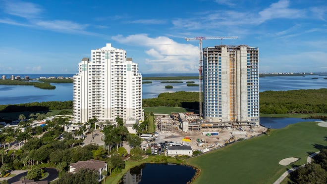 As construction continues to progress at a rapid pace, The Ronto Group announced that cap off of its Omega high-rise has been completed.  Just 15 residences remain available.