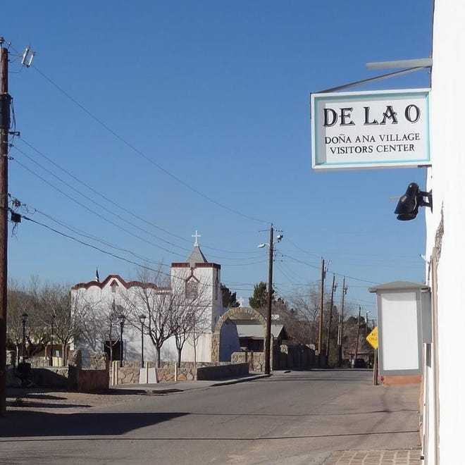 The historic Village of Doña Ana present day, north of Las Cruces.