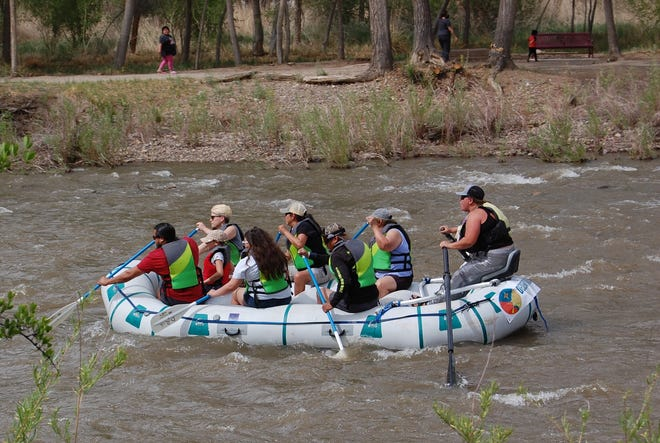 Visitors who are in Farmington this week for the Outdoor Economics Conference and Expo will have the opportunity to take part in San Juan County's recreational offerings, including rafting.