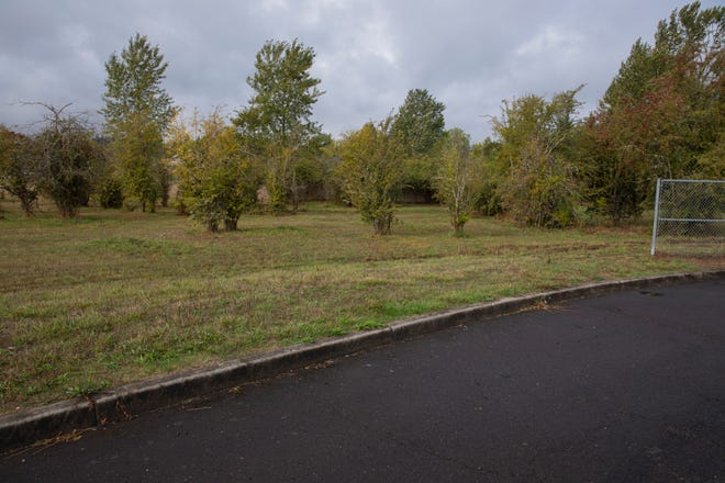 The proposed location of a managed homeless camp near the park & ride location off of Wallace Road in Salem, Oregon on Monday, Sept. 27, 2021.