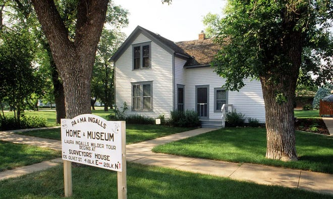 Part of the many Ingalls WIlder sites in De Smet, South Dakota, which is in the running for Best Historic Small Town.