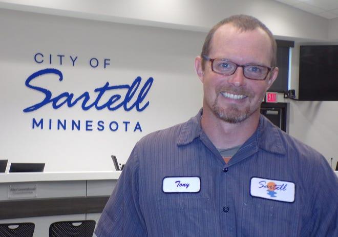 Tony Krueger is Sartell's first parks supervisor.