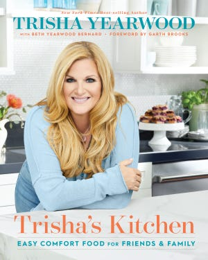 Trisha Yearwood will give an online demonstration from her new cookbook on Sept. 30, 2021.