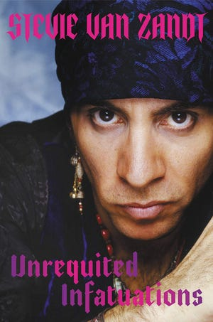 Steven Van Zandt is known for his tenure in Bruce Springsteen's E Street Band, but his memoir expounds on his colorful background.