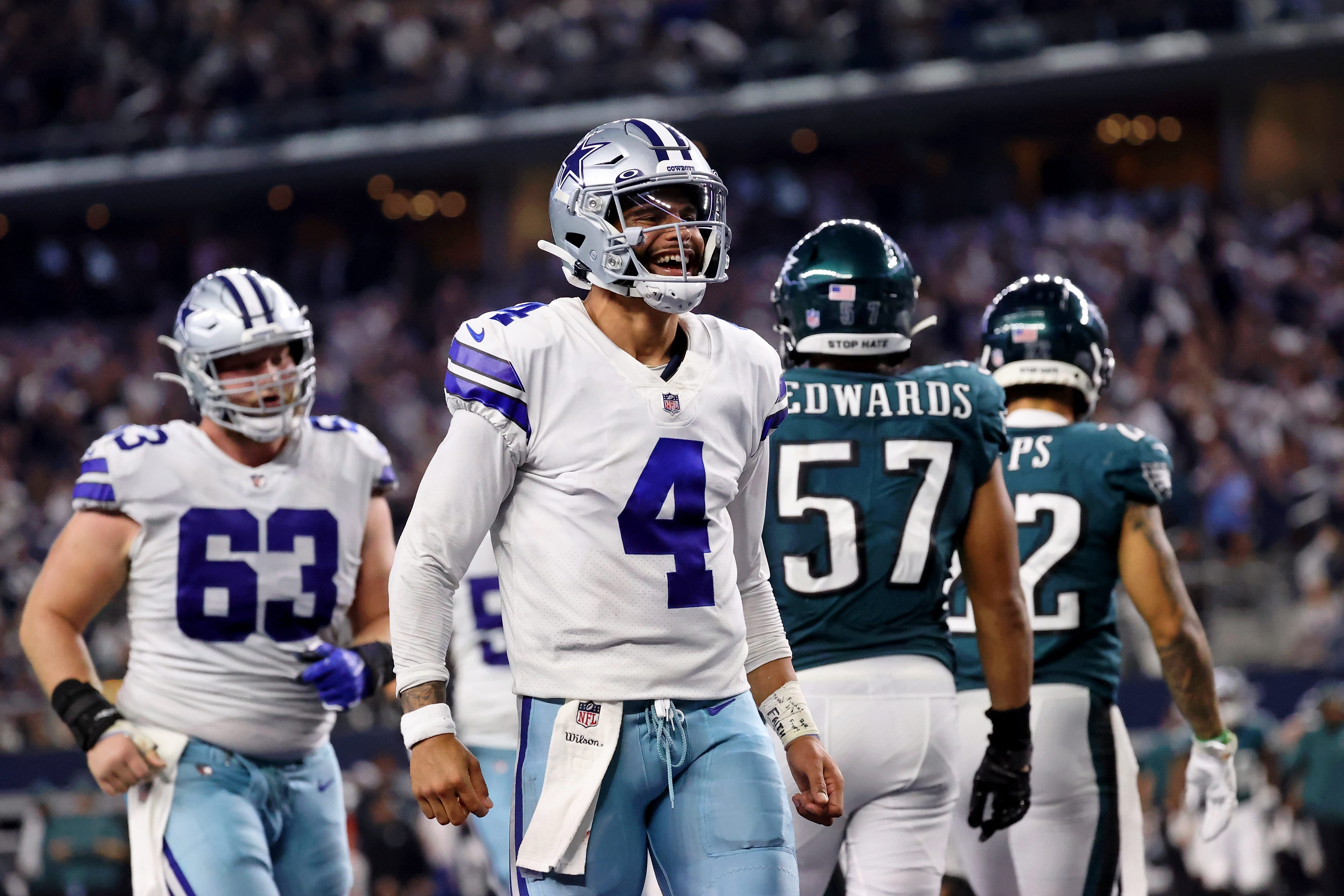 Dak Prescott, Ezekiel Elliott, Trevon Diggs lead Dallas Cowboys to defeat of Philadelphia Eagles on MNF