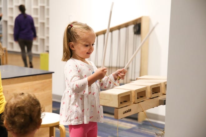Visitors can enjoy the museum with free admission on the first Friday night of each month, October through June.