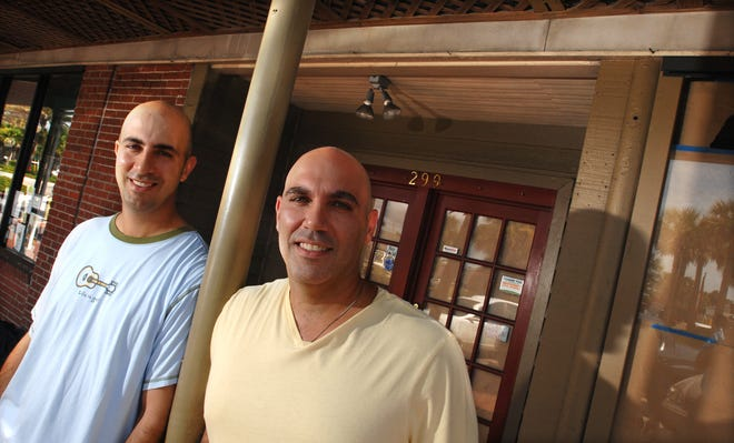 Matthew Medure, right, and David Medure opened launched their M Shack concept in 2011 in Atlantic Beach. A decade later, the pair are closing the original restaurant, leaving open restaurants at St. Johns Town Center and Nocatee Center.
