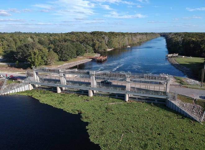 The St. Johns River Water Management District is inviting feedback on what to do with the Kirkpatrick Dam at Rodman Reservoir, built in 1968 to make the Ocklawaha River part of an inland barge canal that was never completed.