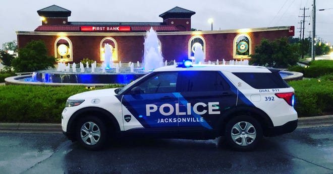 City of Jacksonville police vehicle