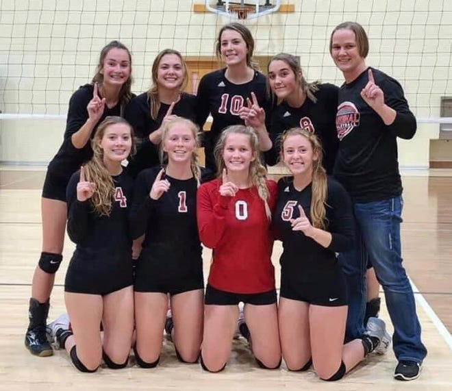 Johannesburg-Lewiston volleyball wins their third tournament of the season by going 6-0 and defeating Sault Ste. Marie in a three-set thriller.