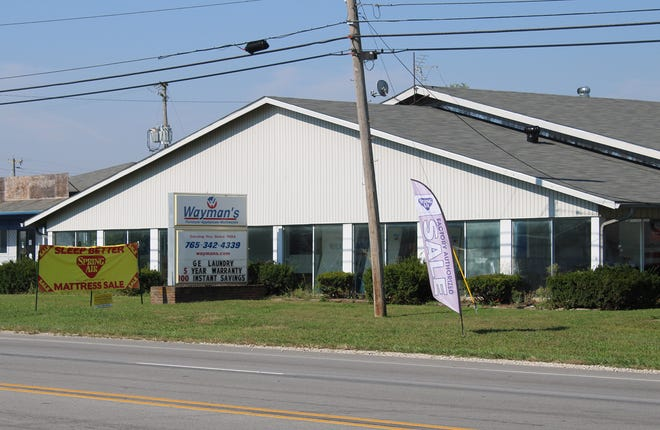 Wayman's Furniture and Appliances sits along the Ind. 39 bypass in Martinsville.