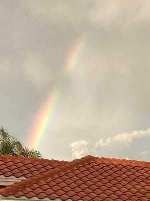 Rainbow in World Golf Village.