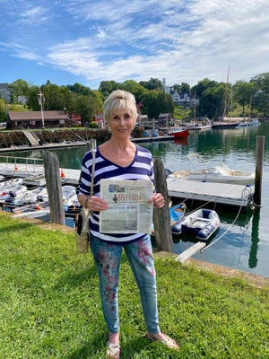 Carolyn Cheney took The Record along to Rockport near Camden. She and her husband, Jon spent a week in the area where the weather was glorious.