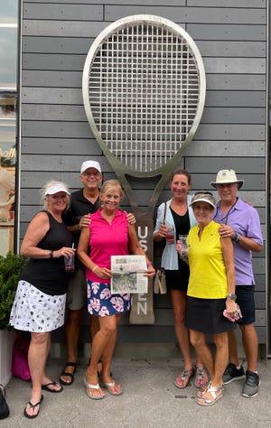 Joanne Basden, Joe & Celia Moore, Linda Kobetitsch, Sharon & Bob Carlson took The Record along to the 2021 US Open.