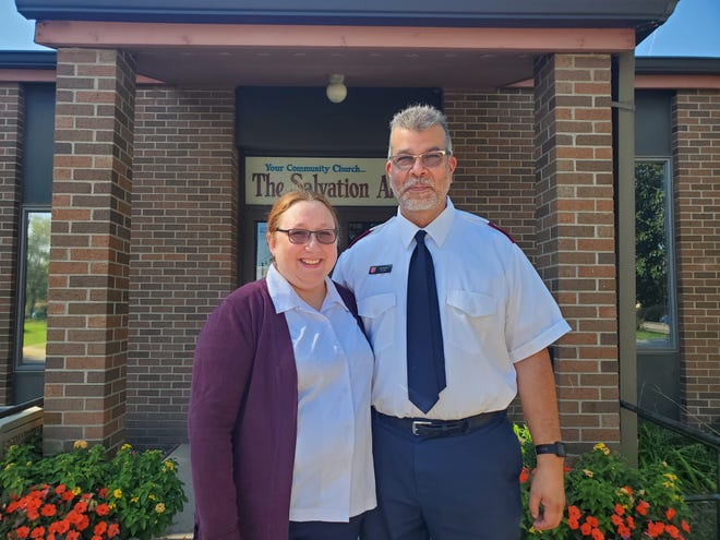 April and Joe Alvarez are the new lieutenants for the Salvation Army in Aberdeen