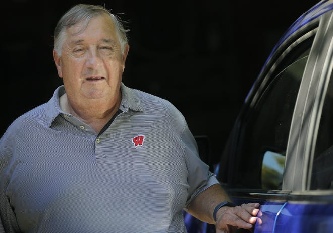 Lou Blasczyk, shown at his home in Fox Crossing, monitors his financial accounts regularly, and it paid off to stop check fraud.
