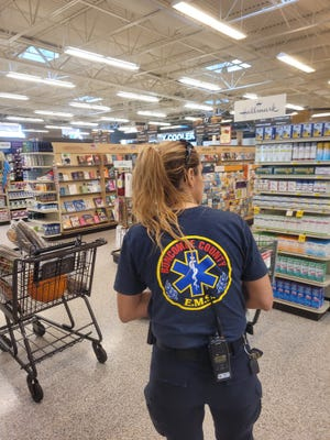 A reader asks why Buncombe County EMS workers were in a local grocery store Sept. 27, 2021, and not wearing masks, as is mandated in Buncombe County.