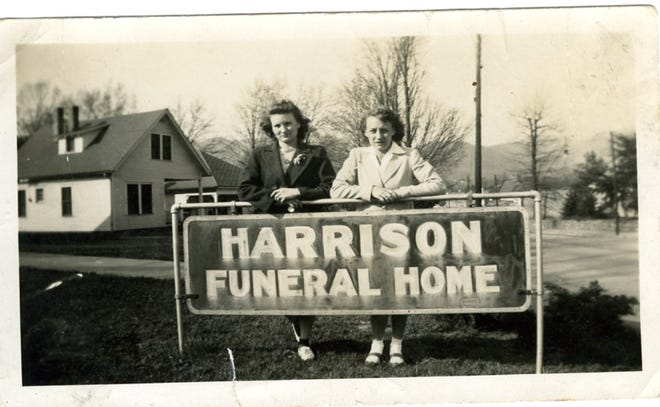 Harrison Funeral Home formally opened its new Black Mountain location on Nov. 24, 1940.