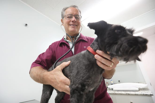 Jeff Poland has been a veterinarian almost 40 years. Poland and his wife Sharon started A1 Vet Care in 1986.