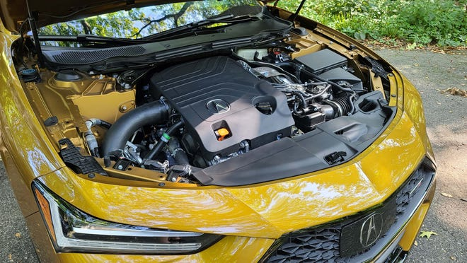 The turbo-6 cylinder in the 2021 Acura TLX Type S packs a punch.