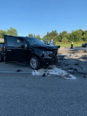 A Bonita Springs man was killed Tuesday night in a crash involving four vehicles on U.S. 41 in Estero.