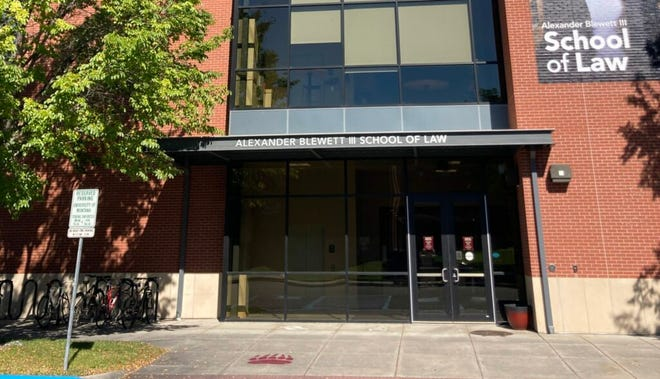 Enrollment at the University of Montana Alexander Blewett III School of Law is about 248 students, which is roughly half female.