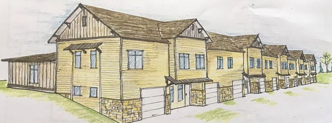 The proposed Woodside Prairie development in Grafton would provide housing for adults with autism.