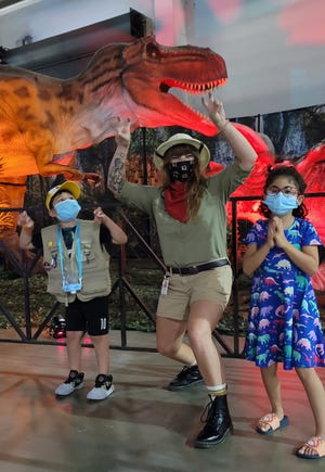 Jurassic Quest, a traveling show featuring animatronic dinosaurs, will be at the Wisconsin Center Oct. 29-31.
