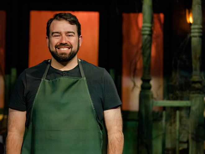 """Travis Martinez of West Allis is a contestant this year on season 11 of """"Halloween Wars,"""" airing Sundays on Food Network until Oct. 31."""