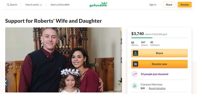 South Milwaukee resident Robert Kalski, 30, was hit while riding his motorcycle on Sept. 25 and died at the scene. His wife, Vianca Sheldrick, set up a GoFundMe to help with funeral and other expenses for her and her daughter, Naveen.