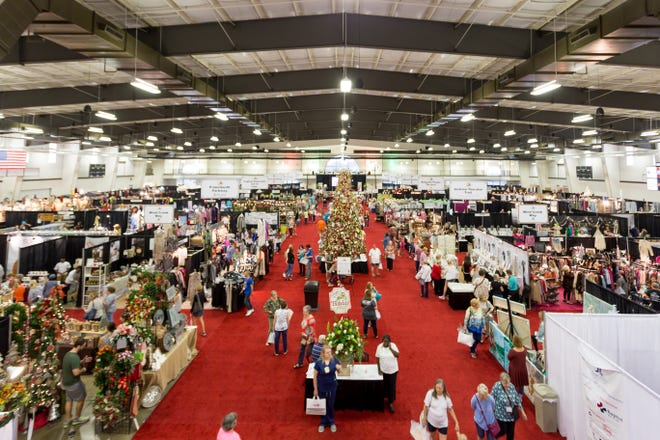 The Junior League of Montgomery's 33rd annual Holiday Market will offer three days of shopping Oct. 7-9 at the Montgomery Multiplex at Cramton Bowl.