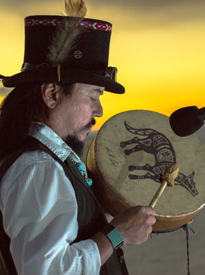 Musician and storyteller Randy Granger in an evening of Native American flute music and storytelling starting at 7p.m. on Saturday, October 9.