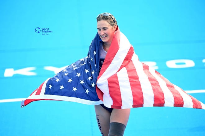 Team USA Allysa Seely at the Tokyo Paralympics