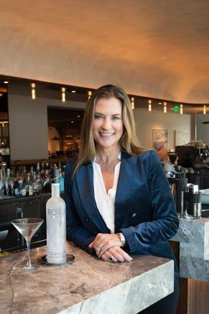 Roxx Vodka founder Angie Nielsen.