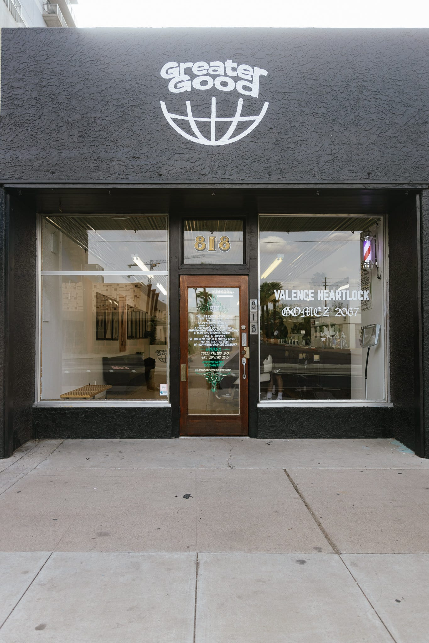 The Greater Good is located off Central Avenue near Roosevelt Row. The shop has been open now for more than a year.