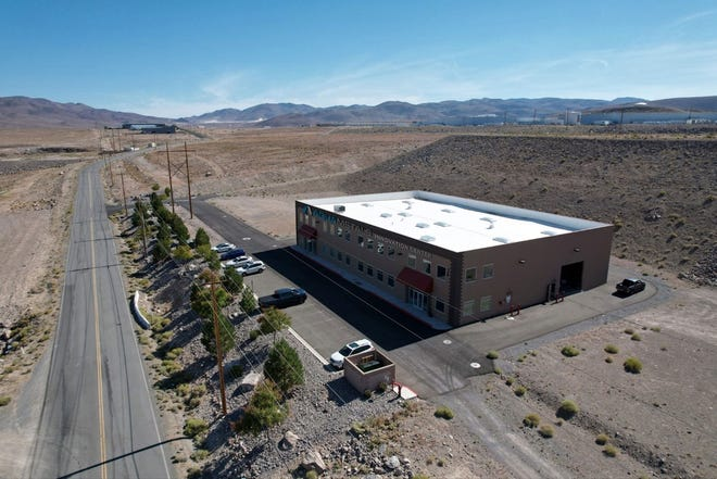 The Aqua Metals Innovation Center at the Tahoe-Reno Industrial Center.