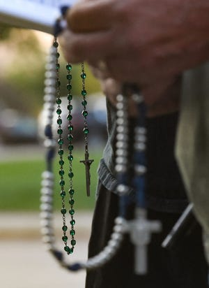 Everyone is invited to join in a Public Square Rosary Rally on Saturday, October 16th, 2021, at 12:00 noon at Anderson Park Pavilion in Alice.