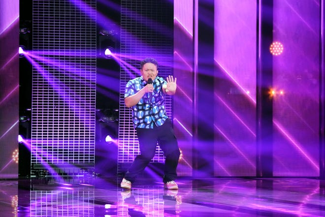 """Contestant Kobe Vang performs on """"Alter Ego."""""""