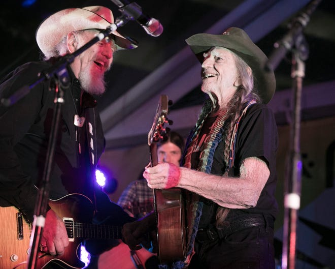 """Willie Nelson joins Ray Benson and Asleep at the Wheel on three tracks of their new album, """"Half a Hundred Years."""""""