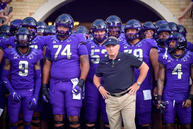 The TCU Horned Frogs and head coach Gary Patterson take on Texas Saturday.