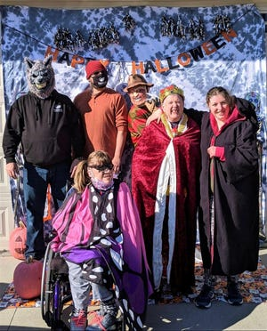 Friendship Ark will be selling Halloween costumes Sunday at the Beautiful Land market. They will also be accepting donations of gently used costumes.