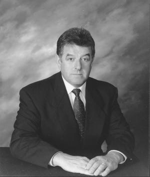James Cummings campaigned for his first term as Barnstable County Sheriff in 1998 as a Republican candidate for the office.
