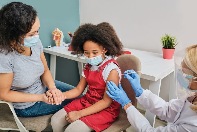 Routine vaccinations are an important part of a child's health care, according to medical experts.