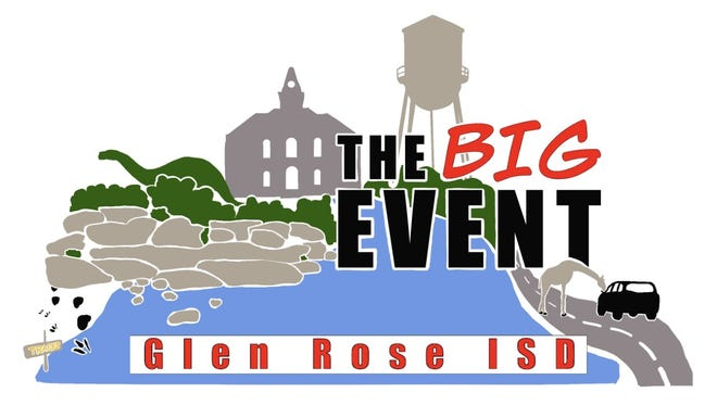 Students from Glen Rose ISD will take a break from their studies to participate in The Big Event — a student-led service project as a way to give back to the community.