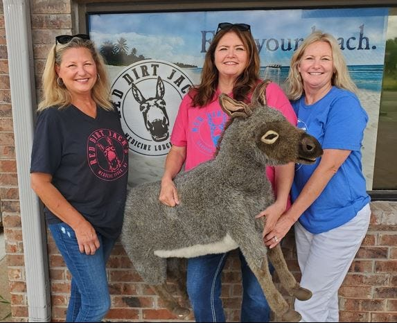 Sisters Marsha Hoagland, Diane Johnson and Rhonda Gabriel are the owners of Red Dirt Jack's in Medicine Lodge. Red Dirt Jack's is a gas station, convenience store and more.