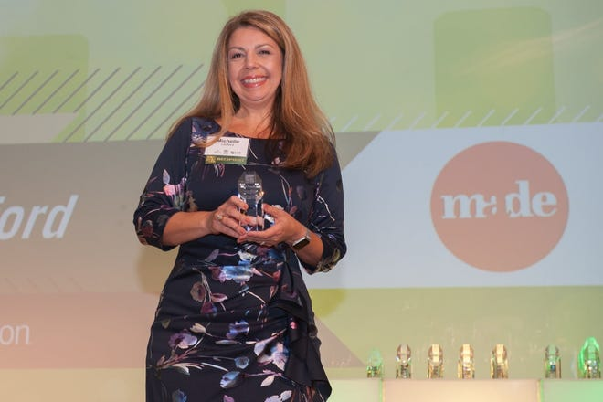 Michelle Ledford, founder of MADE, a marketing and brand agency in Lakeland.