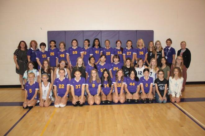 Nebraska City Middle School volleyball