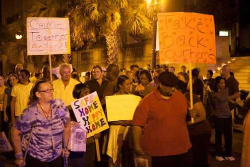 Take Back the Night March and Rally will be held Thursday, Oct. 14 in downtown Wilmington.