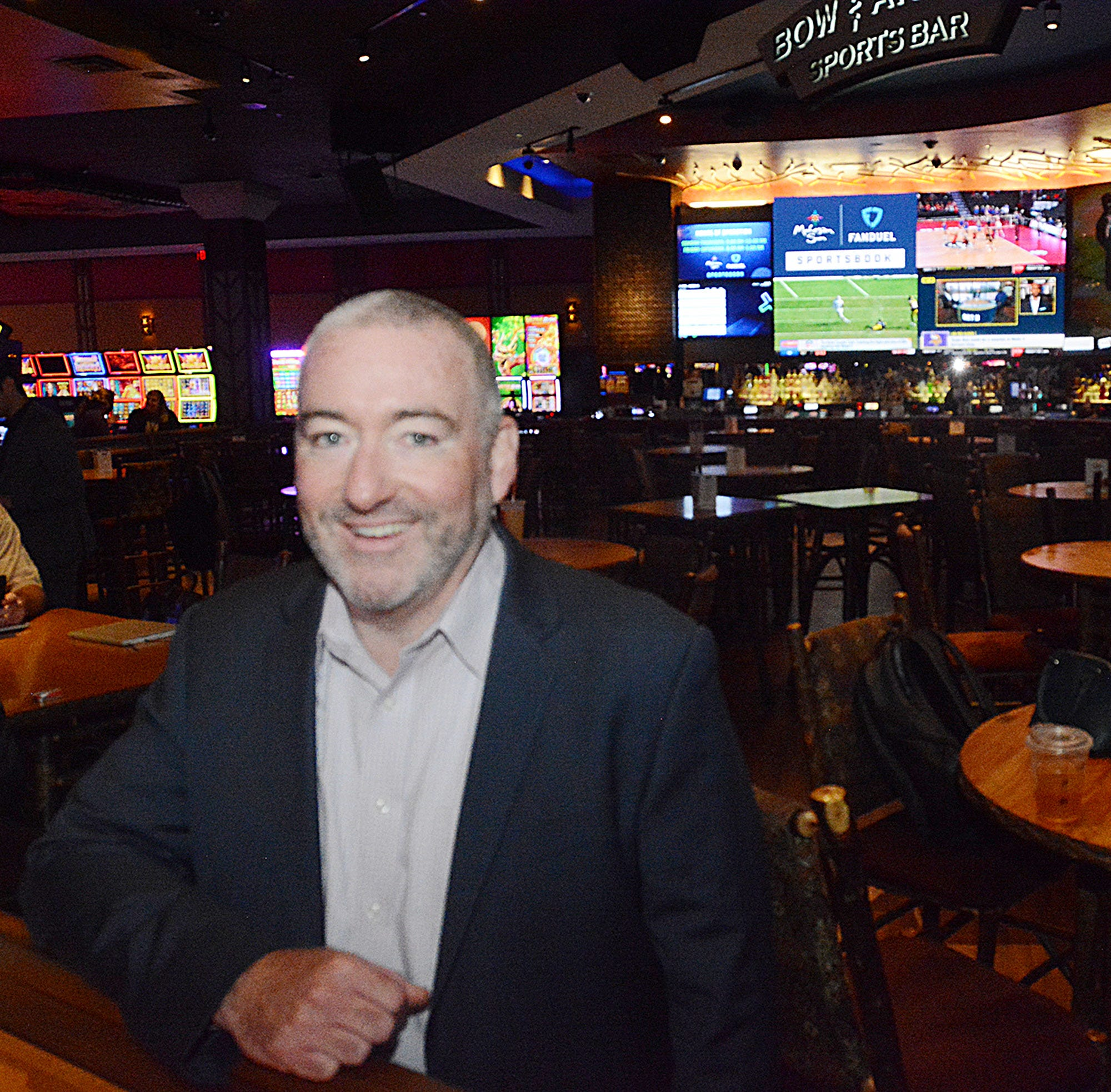 Kevin Lowry is the assistant general manager at Mohegan Sun. A recent college graduate in 1996, he's thankful for the opportunities Mohegan Sun provided him, as he is one of around 500 opening day employees still working there.